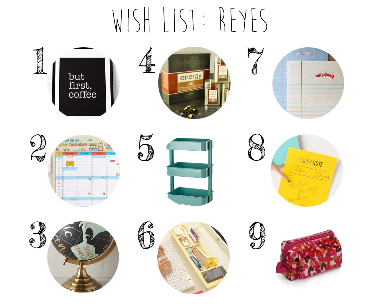 Wish List: Reyes
