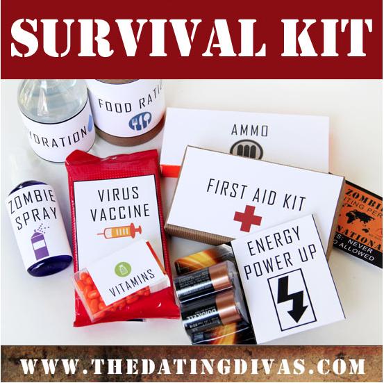 Kit de supervivencia contra Zombies
