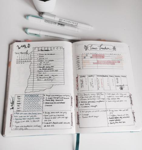 Bullet Journal Semanas