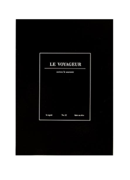Cuaderno Le Voyageur
