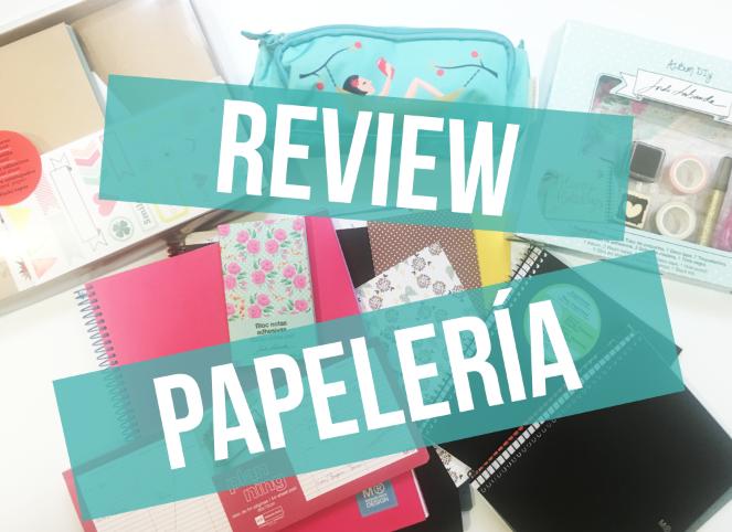 Review Papelería Miquelrius (y SORTEO!)