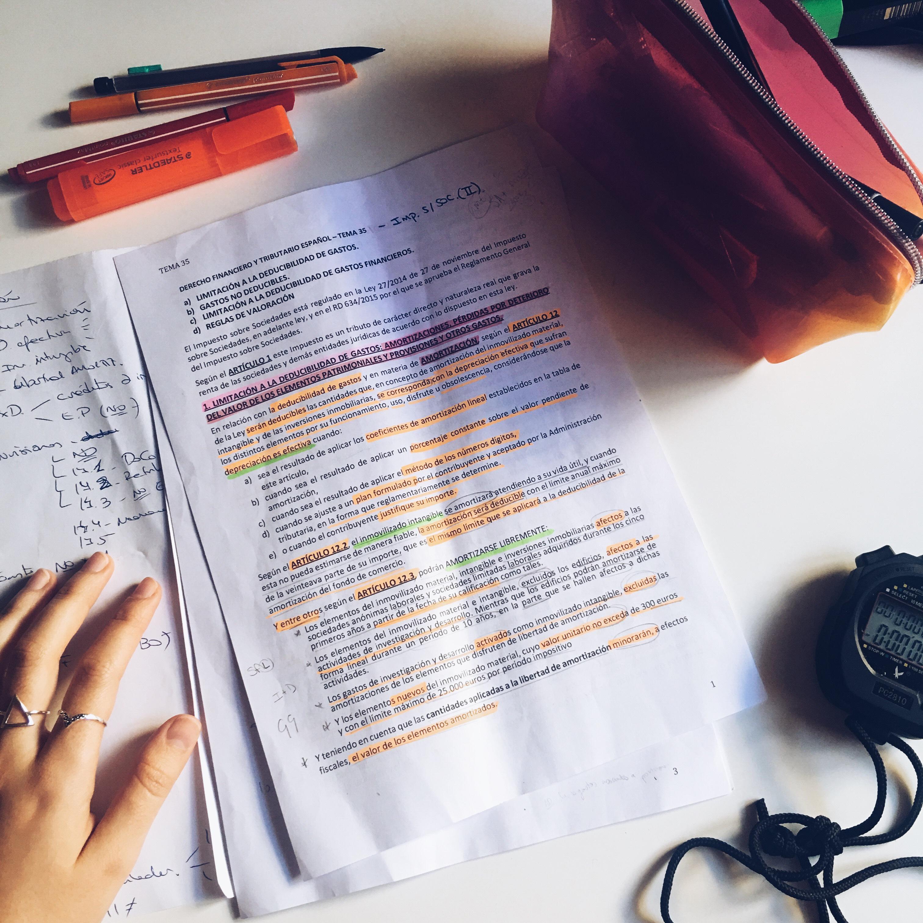 Cómo Memorizar Las Leyes De Forma Literal